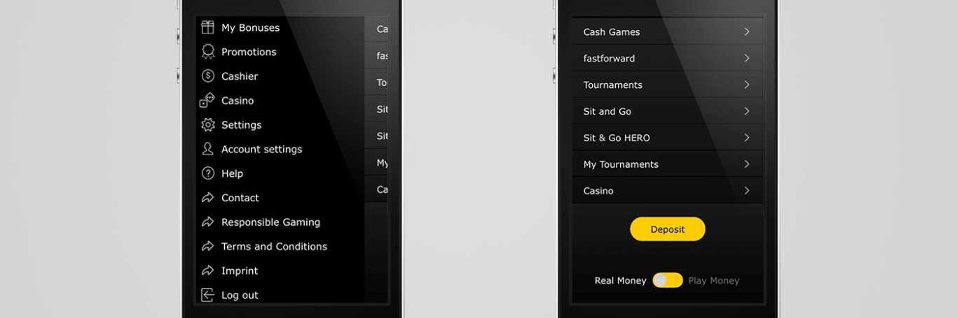 Gains et paiement avec Bwin app